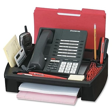 Compucessory™ Plastic Telephone Stand, Black