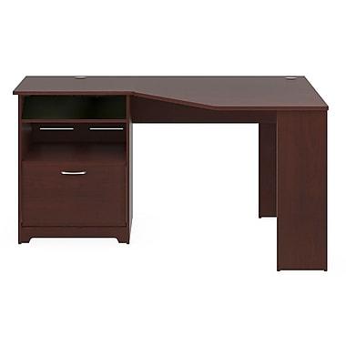 Bush® Cabot Collection Corner Desk, Harvest Cherry