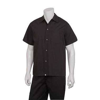 Chef Works® Utility Cook Shirt, Black, Medium