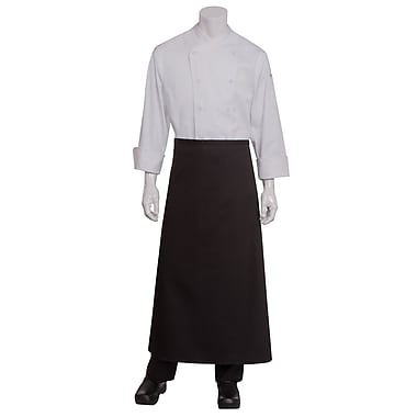 Chef Works® Full-Length Chef Apron Without Pouch Pockets, White