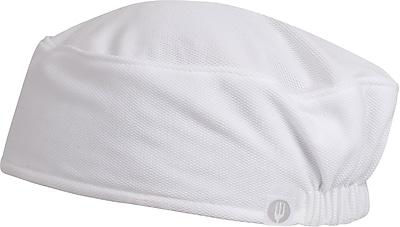 Chef Works Total Cool Vent Skull Cap Beanie White
