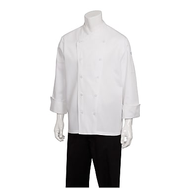 Chef Works® St. Maarten White Long Sleeve Basic Chef Coats