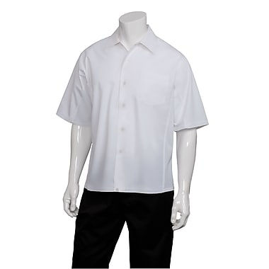 Chef Works® Cool Cook Vent Shirt, White, XS