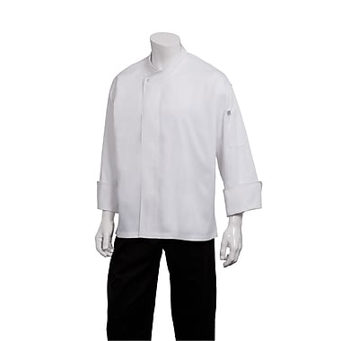 Chef Works® Tours Cool Vent™ Long Sleeve Executive Chef Coat, White, XS