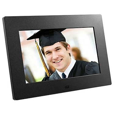 Aluratek ADPF08SF Digital Photo Frame, 8in.