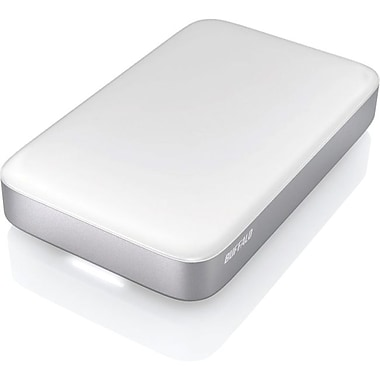 Buffalo™ MiniStation Thunderbolt 500GB External USB 3.0 Hard Drive(Silver)
