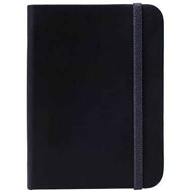 Kobo SleepCover Leather Book Fold Carrying Case For Kobo - Glo Digital Text Reader, Black