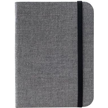 Kobo SleepCover Leather Book Fold Carrying Case For Kobo - Glo Digital Text Reader, Gray