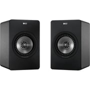 KEF® X300A 70 W High Definition Digital Speaker System, Gunmetal