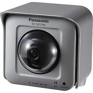 Panasonic® i-PRO SmartHD WVSW174W Outdoor Wireless Pan-tilting HD Network Camera