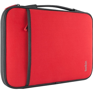 Belkin™ 13in. Sleeve For Laptop/Chromebook, Red