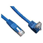 Tripp Lite® 5' Cat6 RJ-45 Male/Male Up Angle To Straight Patch Cable, Blue