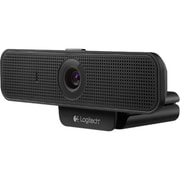 Logitech® C920-C USB 2.0 Webcam For Laptops, 1080P HD, Black