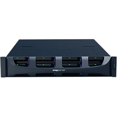 Overland SnapServer DX2 16TB HDD Network Attached Storage Server (Black)