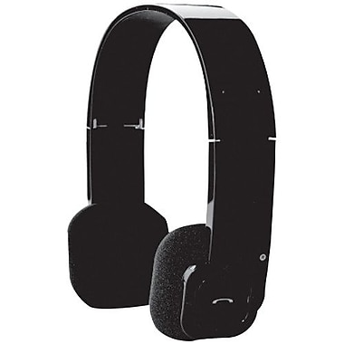 Audiovox BT-HP1 Bluetooth Headphone With Microphone BT Volume Stereo Foldable & Retractable Headband