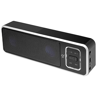 Aluratek ABS02F 4 W RMS Bluetooth Wireless Speakerphone, Black