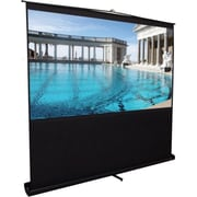 Elite Screens® ezCinema 95 Diagonal Projection Screen, 16:10, Black Casing