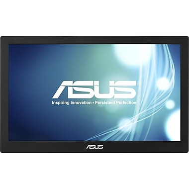 Asus® MB168B 15.6in. LED-LCD Monitor, Black/Silver