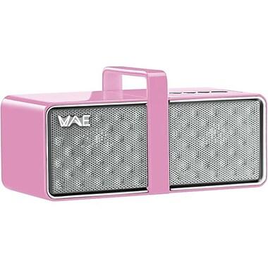 Guillemot Hercules BTP03 Mini Bluetooth Portable Speaker, White/Pink