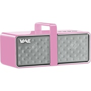 Guillemot Hercules BTP03 Mini Bluetooth Portable Speaker, White/Pink