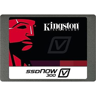 Kingston® SSDNow V300 480GB 2 1/2in. SATA/600 Internal Solid State Drive With Adapter