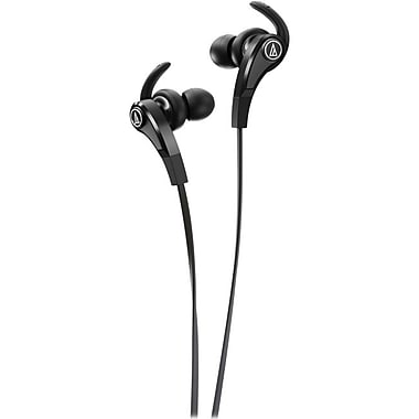 Audio-Technica® ATH-CKX9 SonicFuel In-Ear Headphones With Enhanced Drivers, Silver