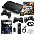 Sony® Playstation 3 Slim 500GB Grand Theft Auto V Bundle W/ Games & Accessories