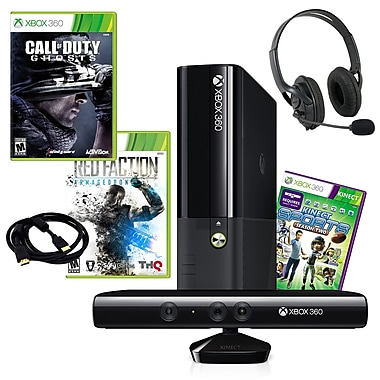 Microsoft® Xbox 360 4GB Kinect Sports 2 Bundle W/ Call of Duty Ghosts and More