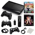 Sony® Playstation 3 Slim 500GB Bundle W/ 2 Games and Accessories, Monopoly and Midway