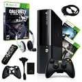 Microsoft® Xbox 360 E 250GB Bundle W/ 3 Games and Accessories