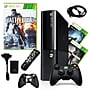 Microsoft Xbox 360 E 250gb Bundle W/ 3
