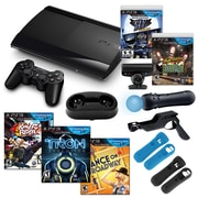 Sony® Playstation 3 Slim 250GB Move Family Bundle W/ 5 Games and Accessories