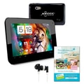 Axess® 7in. Dual Core Android 4.2 Tablet PC Bundle, Black