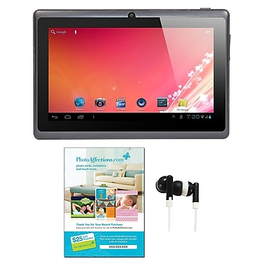 Axess® 7in. Tablet W/ Android 4.1 Bundle, Black