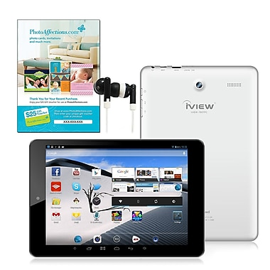 iView 8in. Android Quad Core Touchscreen Tablet PC Bundle