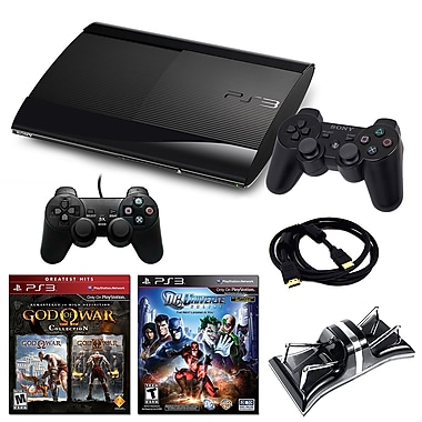 Sony Playstation 3 Slim 500GB Bundle W/ 2 Games and Accessories