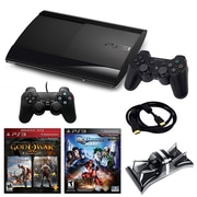 Sony® Playstation 3 Slim 500GB Bundle W/ 2 Games and Accessories
