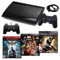 Sony® Playstation 3 Slim 500GB Bundle W/ 3 Games and Accessories