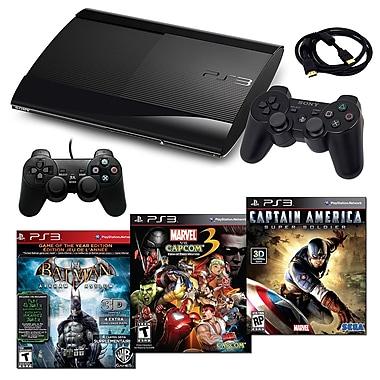 Sony Playstation 3 Slim 500GB Bundle W/ 3 Games and Accessories