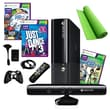 Microsoft® Xbox 360 E 4GB Kinect Bundle W/ 3 Games and Accessories