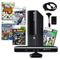 Microsoft® Xbox 360 E 4GB Kinect Bundle W/ 5 Games and Accessories