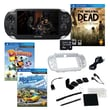 Sony® PS Vita The Walking Dead 3G/Wi-Fi Bundle W/ 2 Games and Accessories