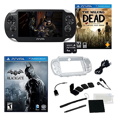 Sony® PS Vita The Walking Dead 3G/Wi-Fi Bundle W/ Games and More