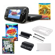 Nintendo® Wii U Zelda, Just Dance 4 and Game Party Chanmions Games W/ Accessories Bundle
