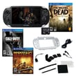 Sony® PS Vita The Walking Dead 3G/Wi-Fi Bundle W/2 Games and Accessories, Call of Duty and Resistance