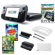 Nintendo® Wii U Nintendo® Land and Game Party Champions W/ Gaming Accessories Bundle