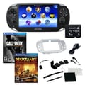 Sony® PS Vita Wi-Fi Bundle W/ 2 Games, Memory Card, and Accessories, Call of Duty and Resistance