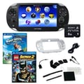 Sony® PS Vita Wi-Fi Bundle W/ 2 Games, Memory Card, and Accessories, Hot Shots Golf and Batman 2
