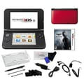 Nintendo® 3DSXL W/ Batman Arkham Origins Blackgate and 17 in 1 Accessories Kit Bundle, Red