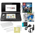 Nintendo® 3DS W/ Sonic Rush and Lego Hary Potter Game and 10 in 1 Accessory Pack Bundles